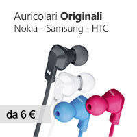 cuffie auricolare originale nokia samsung htc apple etc..