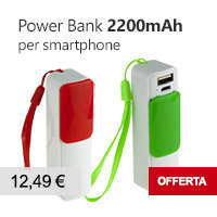 caricabatterie portatile power bank offerta