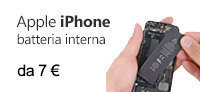 apple iphone batteria interna sostituire